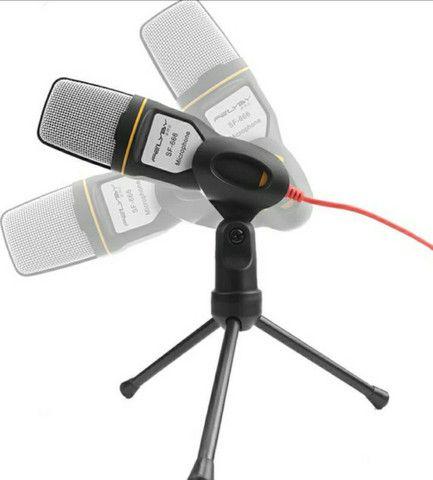 Microfone Condensador Profissional Omnidirecional SF-666 - Foto 4