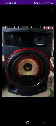 Vendo Dois caixas LG CL87 2350 watts - Foto 3