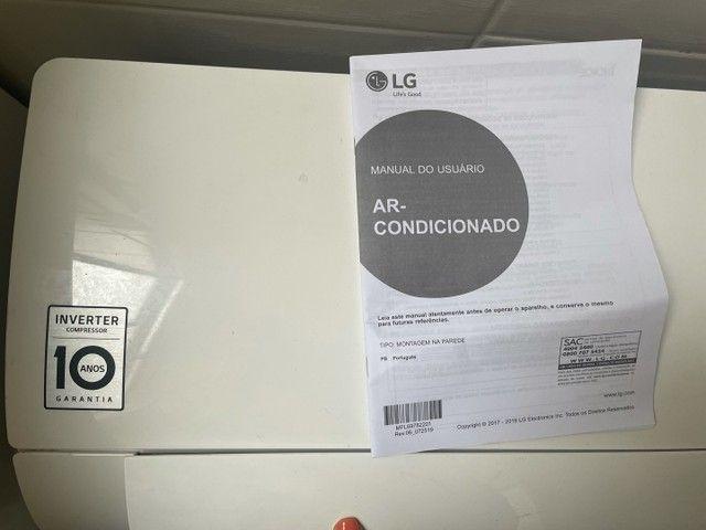 Ar-Condicionado Split LG Dual Inverter Voice S4-Q12JA31C Frio 12.000 BTUs - 127V - Foto 4