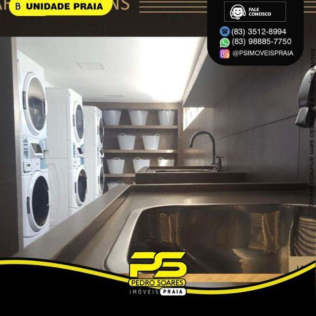 Apartamento com 2 dormitórios para alugar, 50 m² por R$ 3.000,00/mês - Tambaú - João Pesso - Foto 11