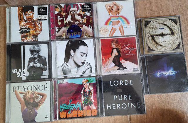 [CDs ORIGINAIS] RIHANNA, BEYONCÉ, KESHA, LADY GAGA, EVANESCENCE, MARIAH CAREY, FERGIE