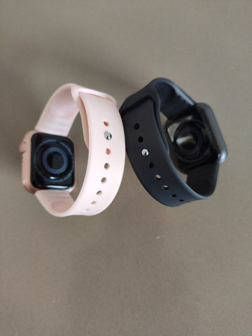 Smart watch d28, recebe notificações das redes sociais, fitness e monitor da saúde - Foto 4