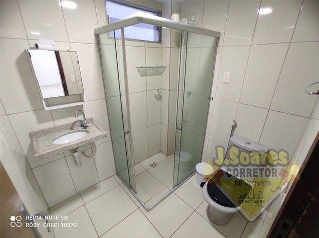 Bessa, 3 quartos, DCE, suíte, 95m², R$ 1.500 C/Cond, Aluguel, Apartamento, João Pessoa - Foto 5