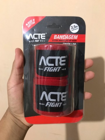 Vendo bandagem ACTE Fight extra absorção!