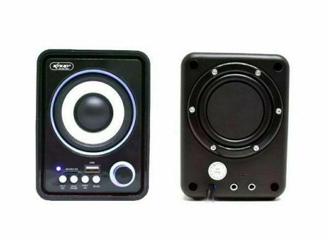 Caixa de Som Bluetooth Para PC Notebook 11W de Potência Soundbar Tv - Foto 4