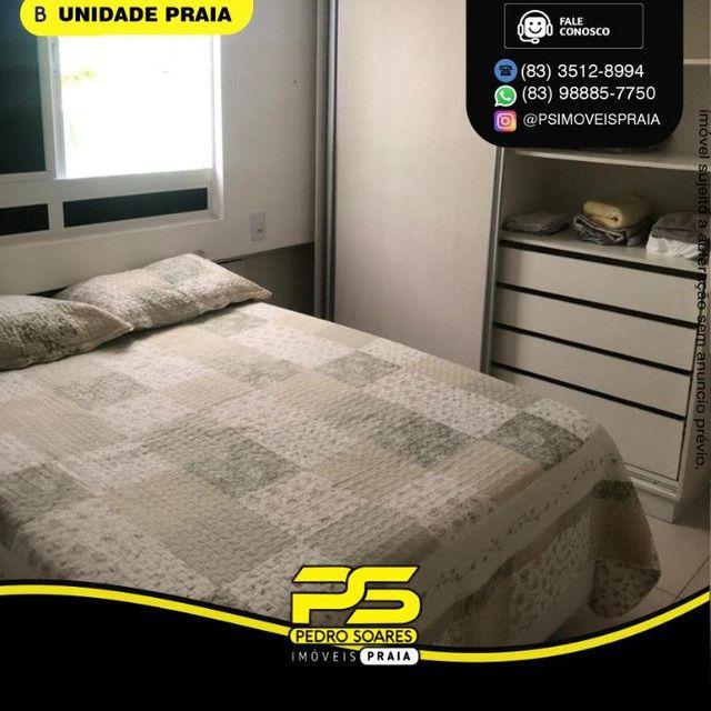 Apartamento com 1 dormitório para alugar, 40 m² por R$ 2.200/mês - Tambaú - João Pessoa/PB