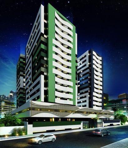 Jatiúca - Apartamento 3 quartos, financiado em até 120 vezes, sem entrada