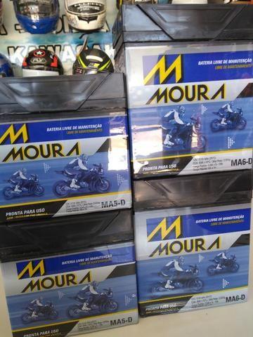 Bateria moura para motos fazer150 fan titan entre outras com entrega em todo rio - Foto 3