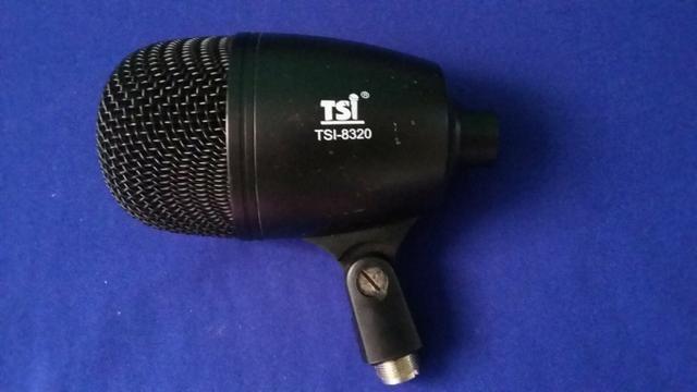 Microfone para bumbo de bateria Tsi
