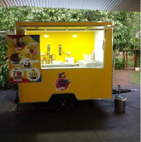 Vendo Food Truck de Sorvetes - Foto 6
