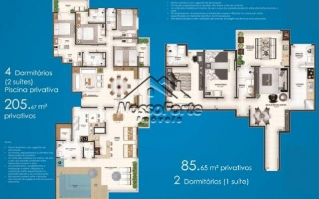 Lançamento Apartamento Alto Padrão Centro de Mongaguá - Foto 14