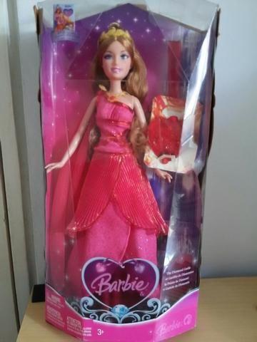 Barbie Princesa Musa Rosa Castelo de Diamante - Mattel
