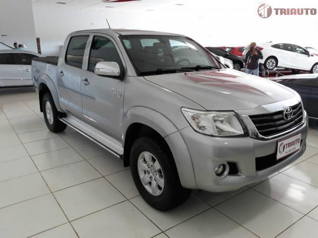 Toyota Hilux SRV CD 4x2 Flex /// POR GENTILEZA LEIA TODO O ANÚNCIO - Foto 3