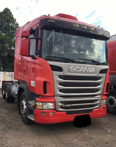 Vendo Scania G 420 A 6x4 bug leve 2011 - Foto 3