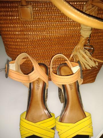 Bolsa arezzo e sapato combo