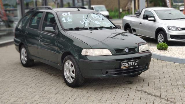 FIAT PALIO 2000/2001 1.6 MPI ELX 16V GASOLINA 4P MANUAL