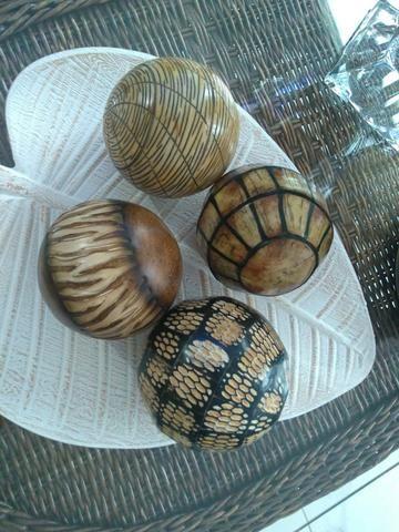 4 Bolas Decorativas