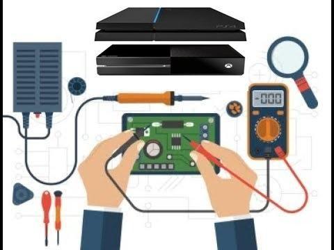 Manutenção em video game ps2-ps3-ps4-xbox360-xbox one-wiiu