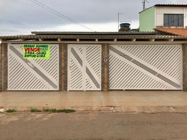 Sergio Soares Vende: Linda casa 28 Gama Leste 3 Qts, todos planejados