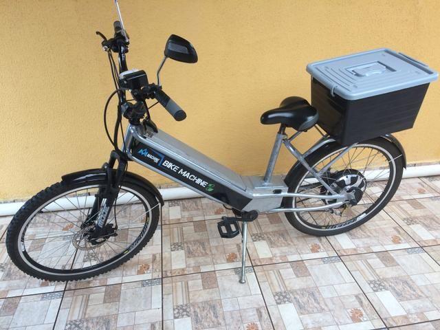 Bicicleta elétrica 800 watts