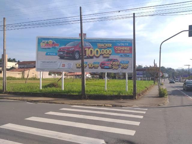 Alugo terreno comercial Jaraguá do Sul-SC, Vila Lenzi - Foto 2