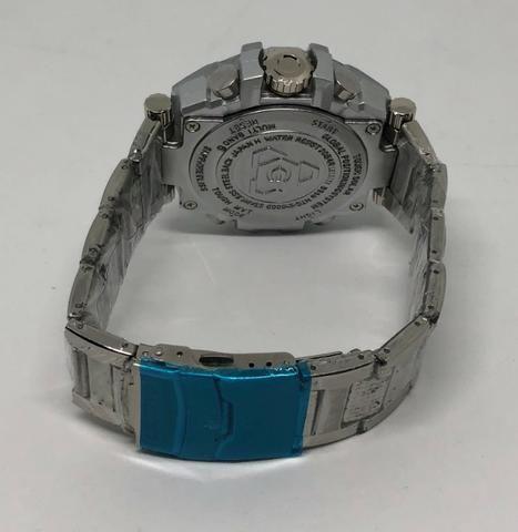 a79390599f7 Relógio Leisite Digital e Analógico Pulseira Aço Prata Caixa de Aço Produto  Novo
