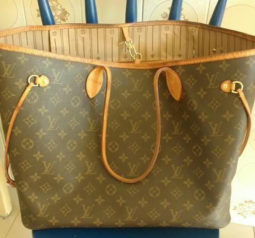 8119f635bb Bolsa Louis Vuitton Neverfull ORIGINAL - Bolsas, malas e mochilas ...