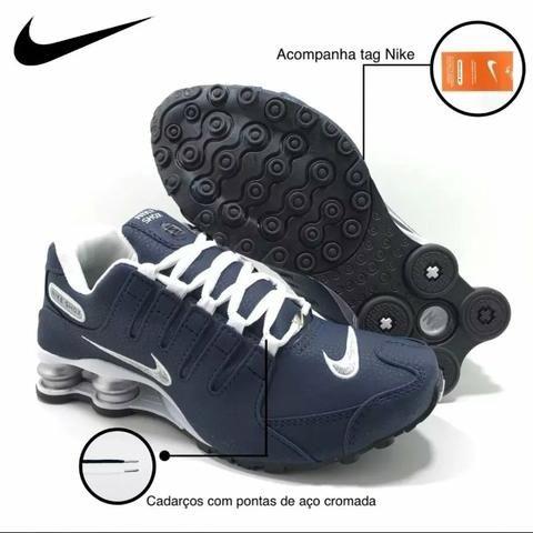 b05bd7902 Tênis Nike Shox nz original frete grátis enviamos para todo brasil ...