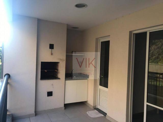 Apartamento com 2 dormitórios para alugar, 86 m² por r$ 2.400/mês - jardim ypê - paulínia/ - Foto 2