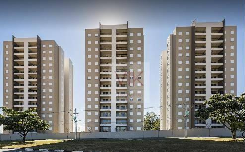 Apartamento com 2 dormitórios para alugar, 86 m² por r$ 2.400/mês - jardim ypê - paulínia/