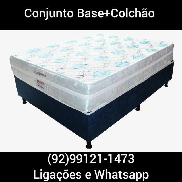 Conjunto Colchão Class Premium Bonnel