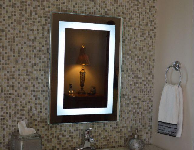 Espelho Retangular Led com Iluminação - 0,80cm x 0,60cm