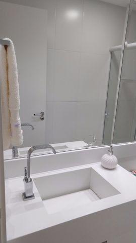 Apartamento à 300m mar com 02 dorms, novo, excelente mobilia!!! - Foto 9