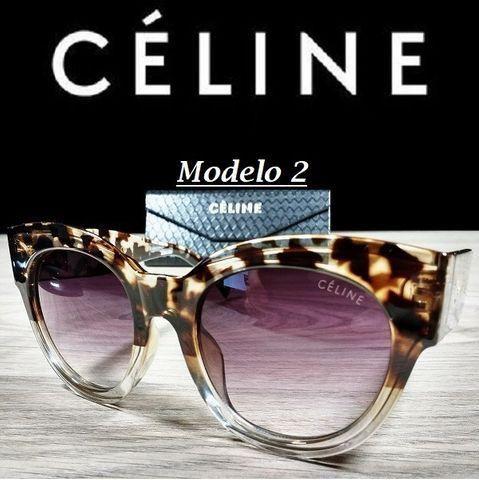Óculos Feminino Céline Petra Redondo CL41447 com Proteção UV - Foto 3