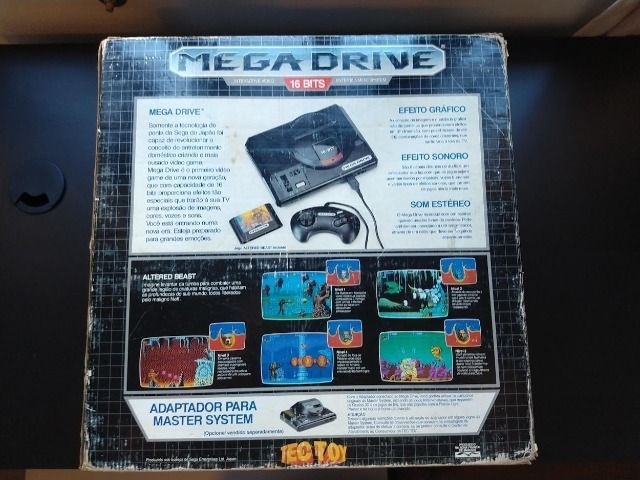 Video Game Sega Mega Drive Tec Toy para Colecionadores - Foto 3