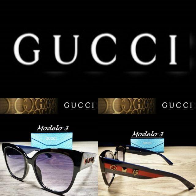 Óculos Feminino Gucci 8311 Retangular com Proteção UV - Foto 3