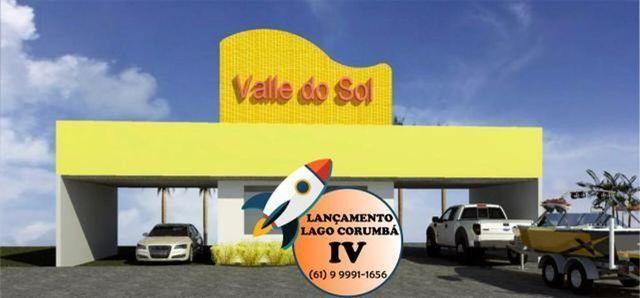 Parcelas de 399 lotes planos / lago / Corumba iv - Foto 2