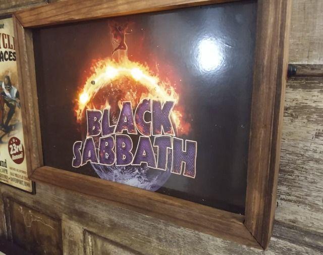 Quadro LED Black Sabbath - Foto 3