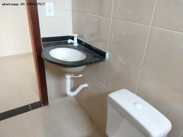 Casa para Venda em Várzea Grande, Novo Mundo, 2 dormitórios, 1 banheiro, 2 vagas - Foto 6