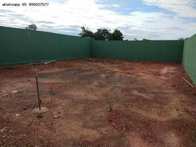 Casa para Venda em Várzea Grande, Novo Mundo, 2 dormitórios, 1 banheiro, 2 vagas - Foto 19