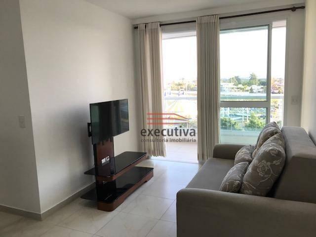 Apartamento com 1 dormitório para alugar, 57 m² por R$ 1.850,00/mês - Jardim das Colinas - - Foto 12