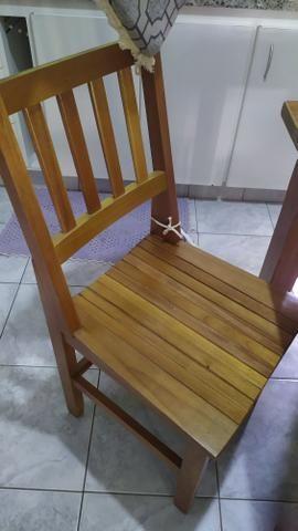 Mesa de madeira de Lei maciça - Foto 4