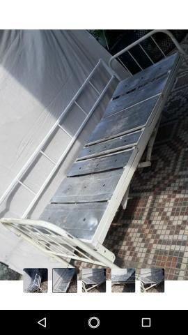 Cama hospitalar grade removível cabeceira e pés reguláveis - Foto 5