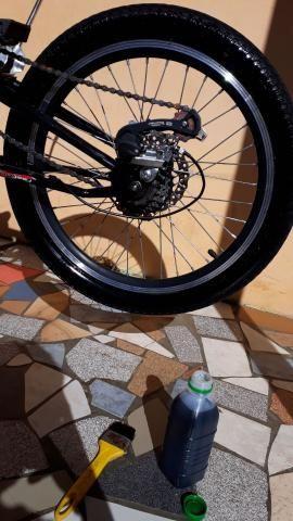 Bicicleta aro 20 leia o anúncio - Foto 6