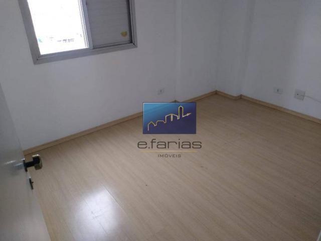 Apartamento com 3 dormitórios para alugar, 70 m² por R$ 2.500,00/mês - Vila Matilde - São  - Foto 12