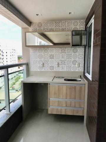 Vendo Ap. Condomínio La Place, 9 andar, Torre Lilac, 112m, 3 suítes, Varanda Gourmet - Foto 3