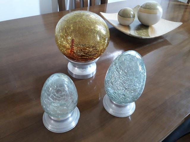 Centro de mesa, jarro, vaso, cesta rústica - Foto 2