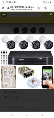 Câmeras de segurança intelbrás hdcvi - Foto 6