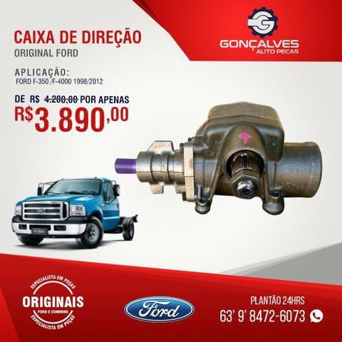 Caixa de direção original ford f-350/f-4000 1998/2012