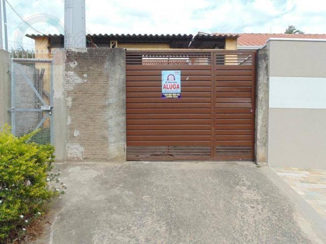Casa com 3 dormitórios para alugar, 90 m² por R$ 1.335,00/mês - Parque São Jorge - Campina